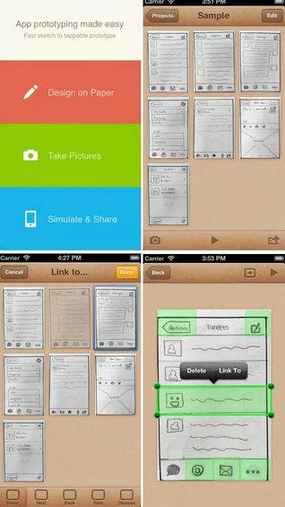 15款优秀移动app产品原型设计工具