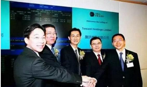 揭秘:马化腾和他的5人创业团队