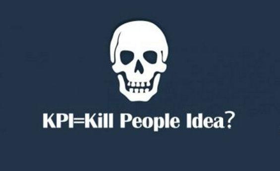在互联网公司,各部门的kpi都是怎样的?