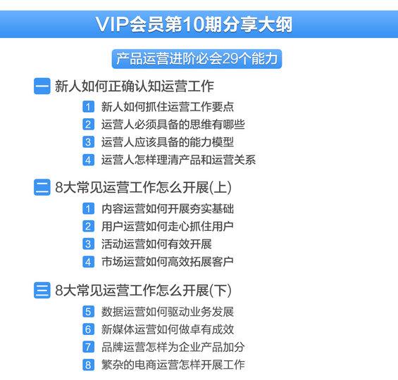 11 【超值】仅100张早鸟票,先抢先得!91运营网集训营VIP会员火热招募中!